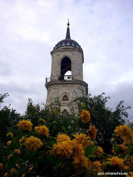 Колокольня Владимирской церкви в Быково