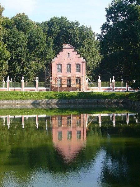 Павильон в парке