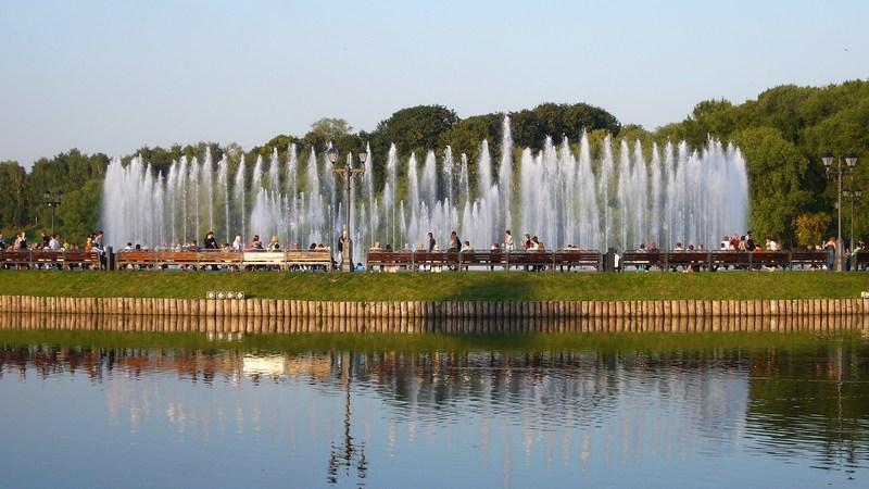 Светодинамический фонтан