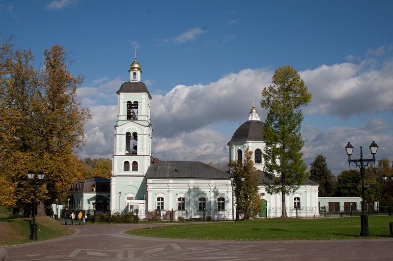 Церковь в Царицыно