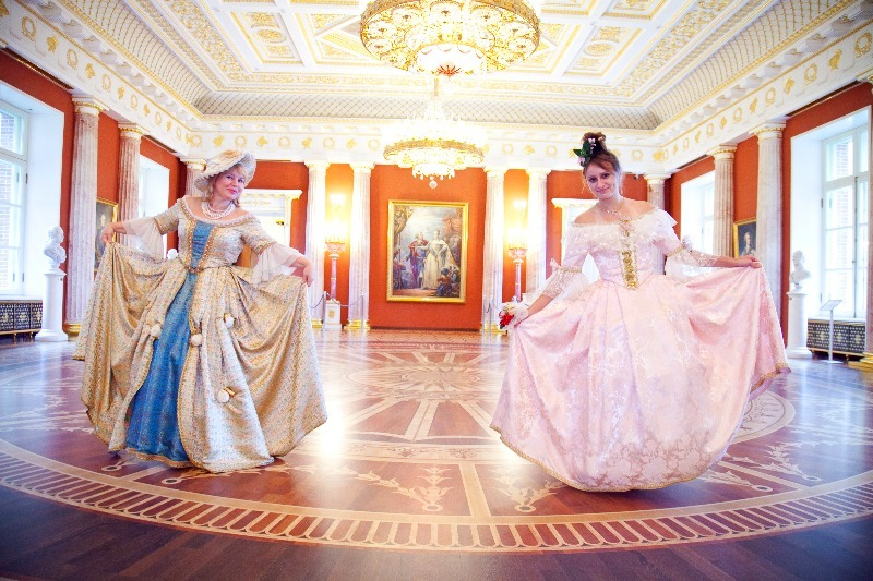 Фотосессия в исторических костюмах