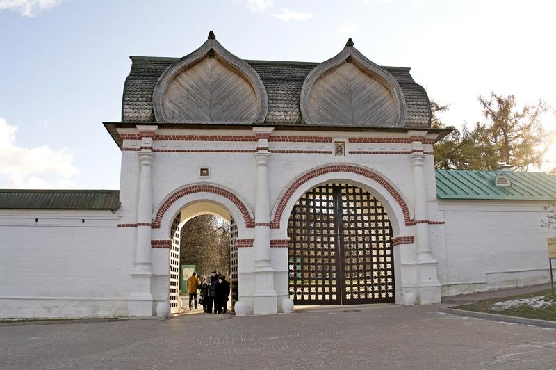 Вход - Задние ворота