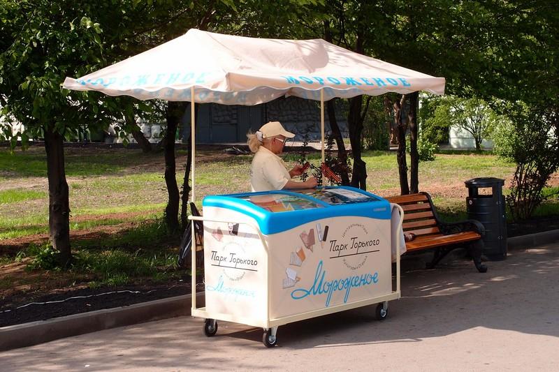 Палатка с мороженым