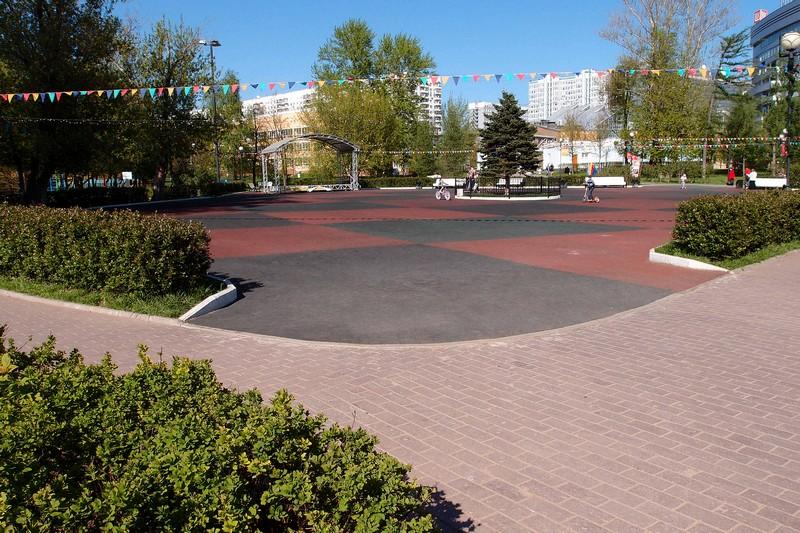 Парковая площадка