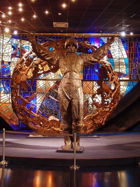 Скульптура Гагарина