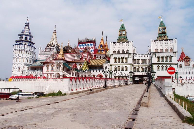 Вид на Измайловский Кремль