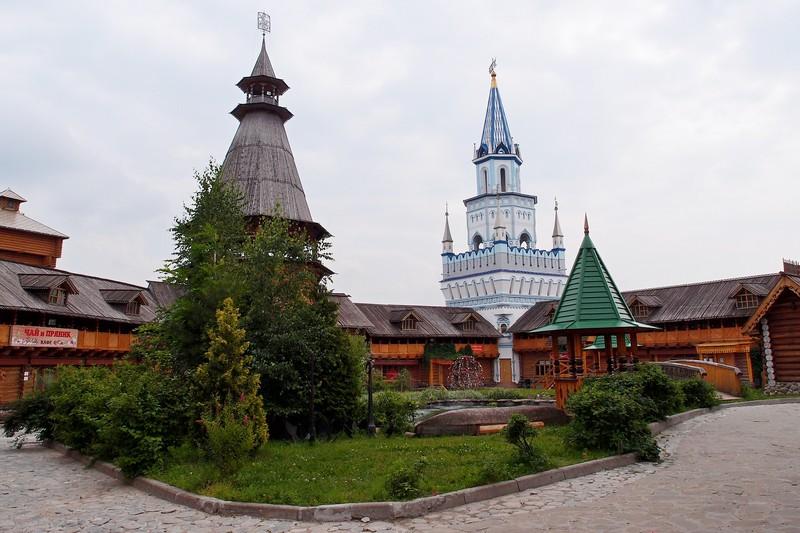Дворик Кремля в Измайлово