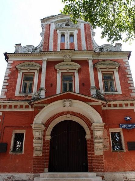 Северный фасад палат Аверкия Кириллова