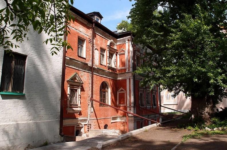 Вид на южный фасад