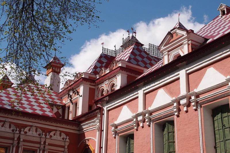 Красивая крыша