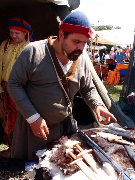 Продавец мечей