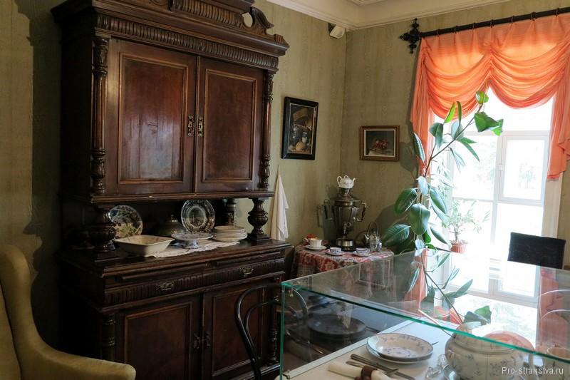 Столовая в главном доме