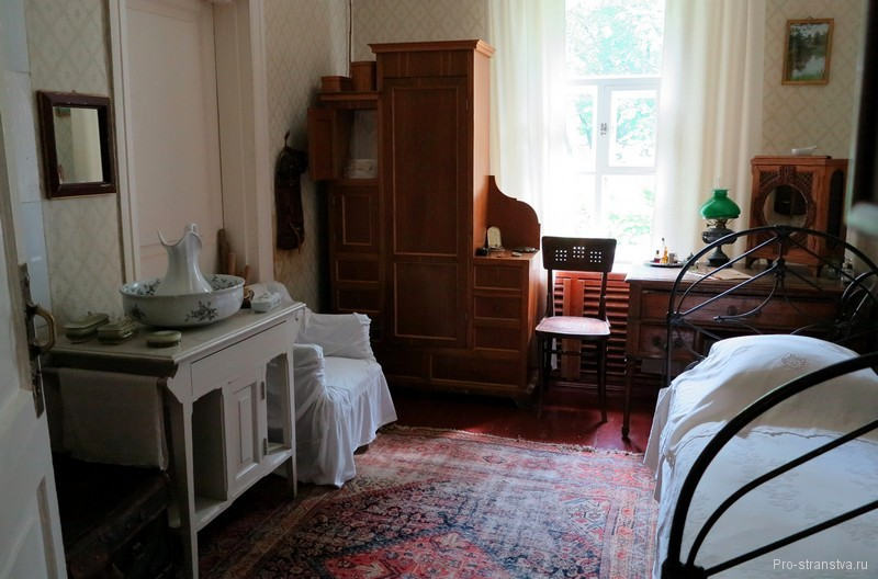 Спальня Антона Павловича