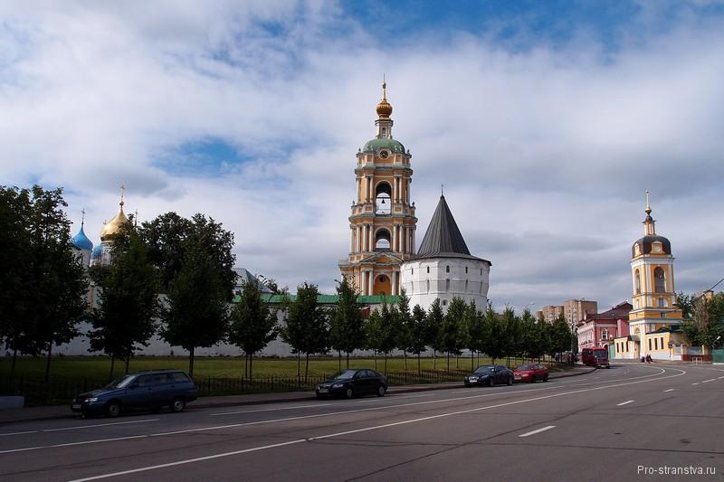 Монастырская башня и колокольня
