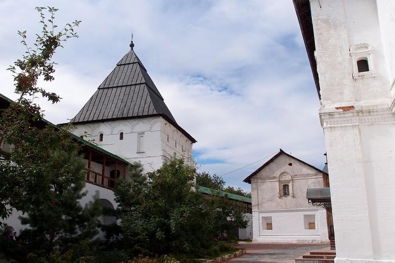 Башня и здания в Новоспасском