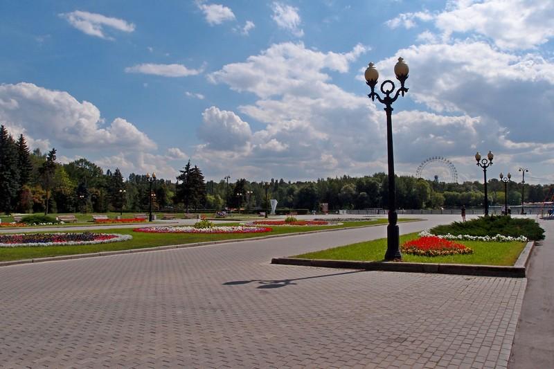 Измайловский парк. Центральная часть
