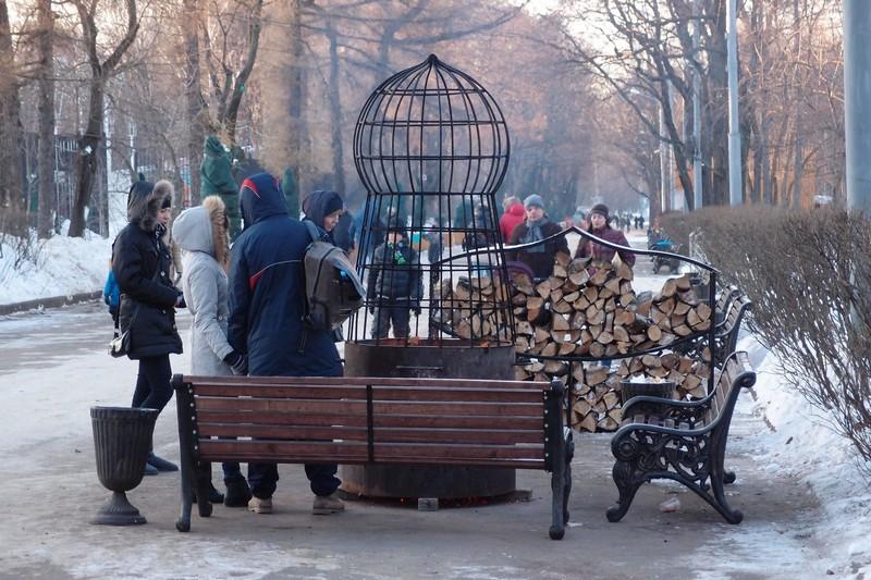 Чудо-печки в парке Сокольники