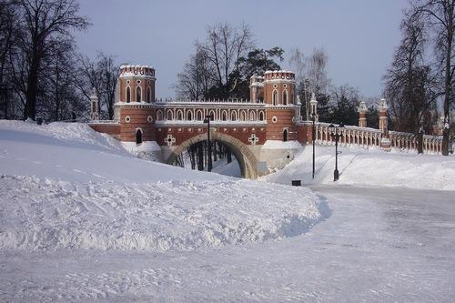 Зимние Фигурные ворота