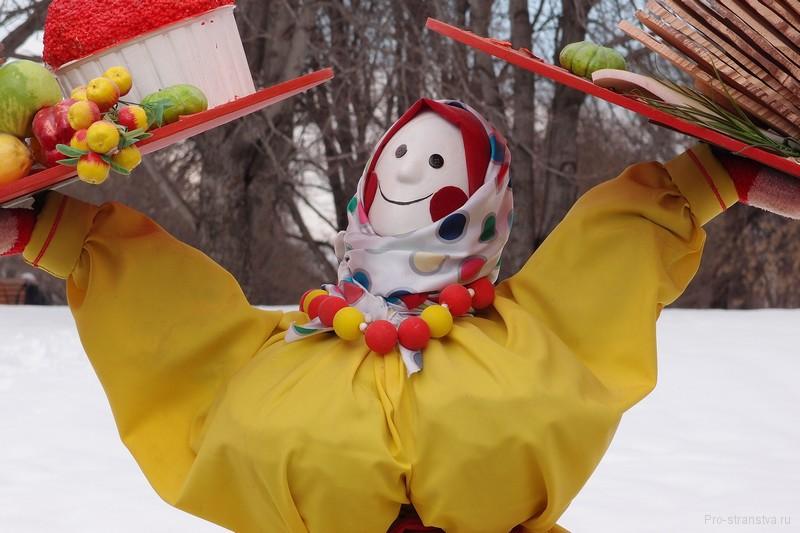Кукла-Масленка в Парке Горького