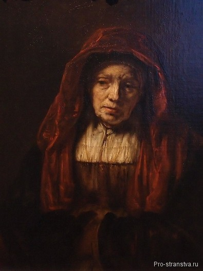 Рембрандт. Портрет старушки