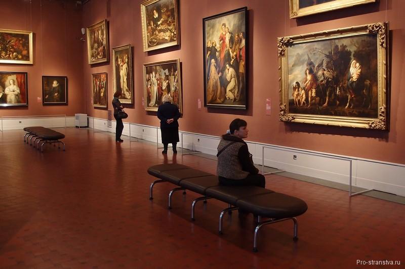 Картины фламандских живописцев