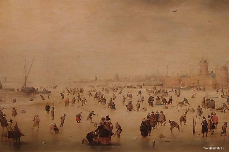 Картина катание на коньках