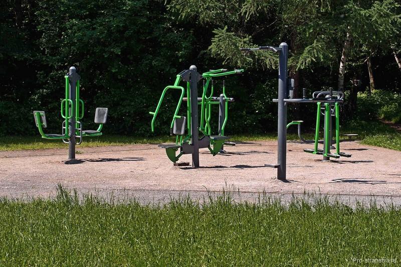 Парковые тренажеры