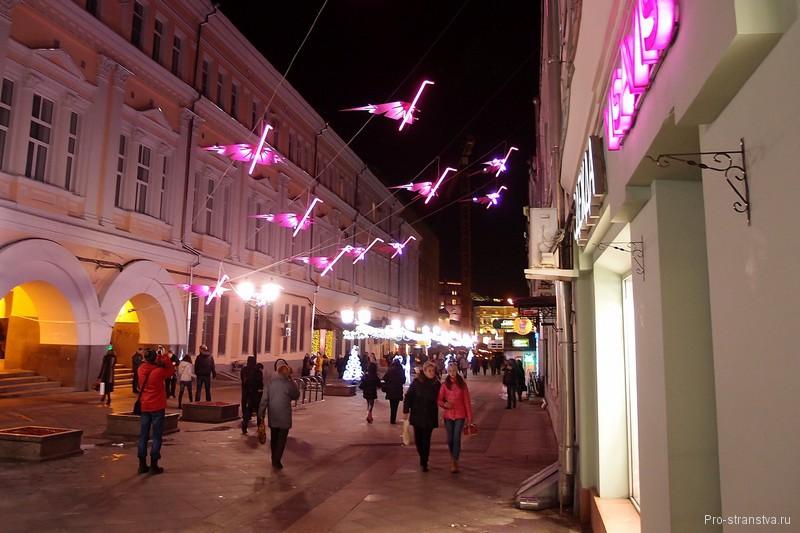 Розовые фламинго на Рождественке