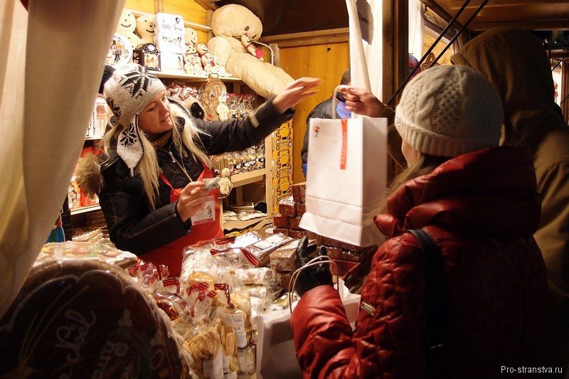 Покупатели подарков