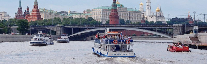 Прогулки по Москве-реке на теплоходе