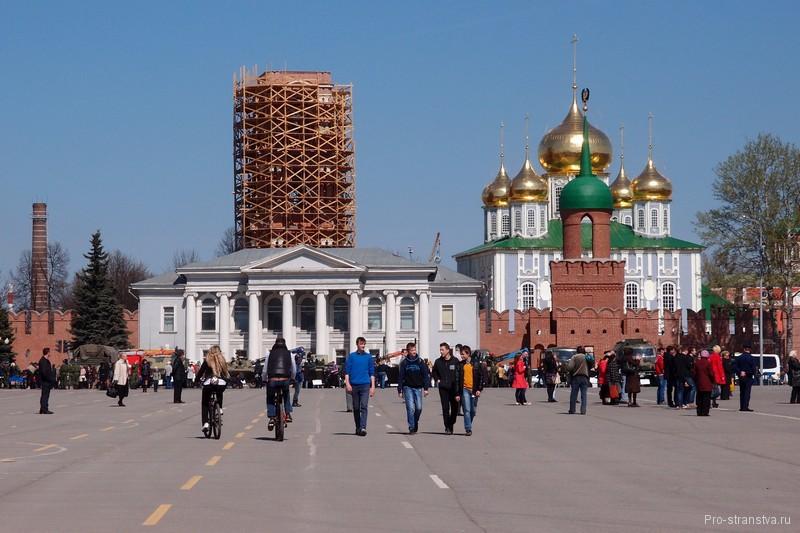 Вид на Тульский кремль