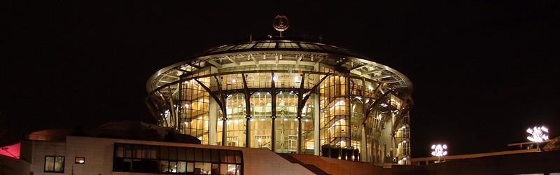 Дом музыки ночью