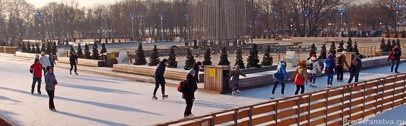 Бесплатные катки в Москве