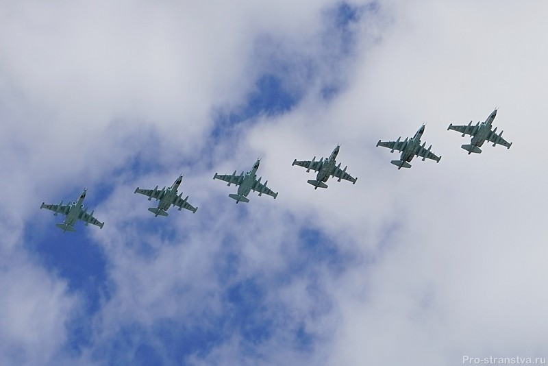Штурмовики Су-25