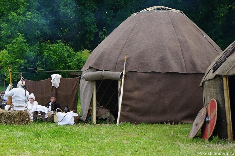 Лагерь степняков