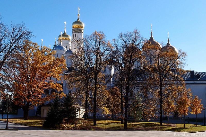 Кремлевские соборы