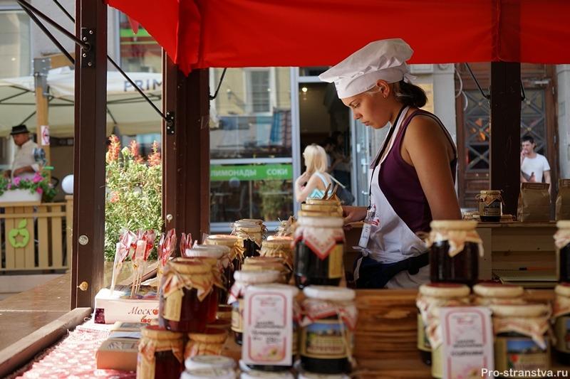 Продавец сладостей