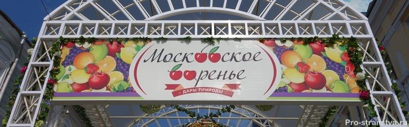 Фестиваль варенья 2016 в Москве