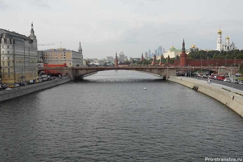 Вид на реку Москву